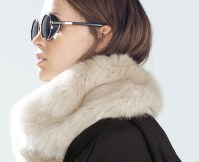 Trend Alert: Faux Fur Scarves | Fashion Report Daily