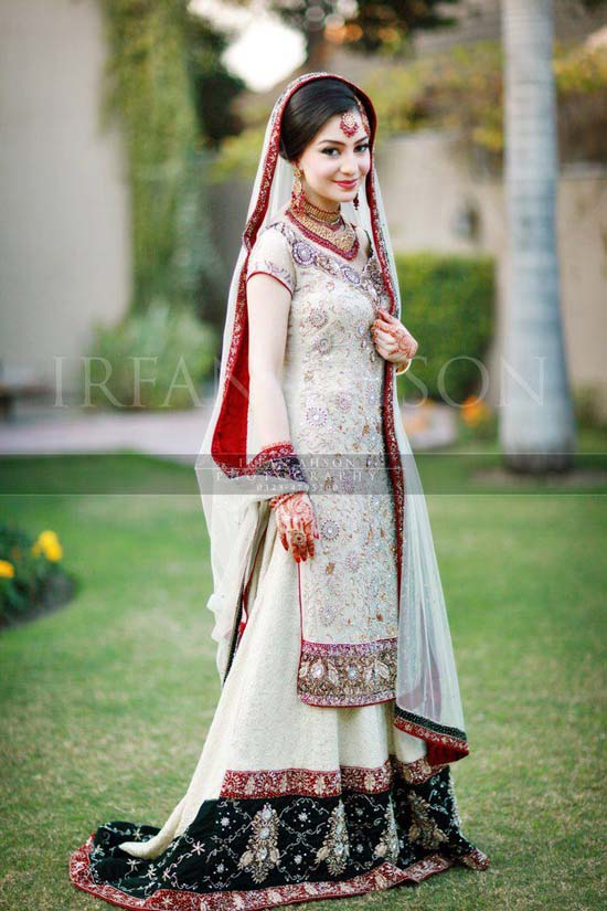 Latest Pakistani Bridal Lehanga Dresses 2013 (2)
