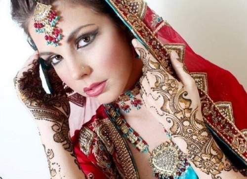 Bridal Mehndi desgins collection (6)
