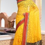 Indian Stylish saree dress for girls (1)
