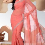 Indian Stylish saree dress for girls (2)