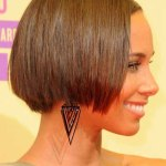 Stylish and trendy short hair style for girls (9)
