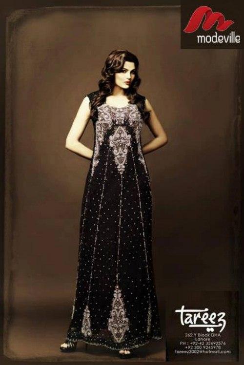 Tareez party wear lehenga collection (3)