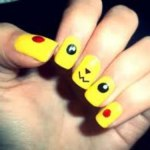 Yellow Nails for women 2013 (1)