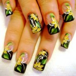 Yellow Nails for women 2013 (7)