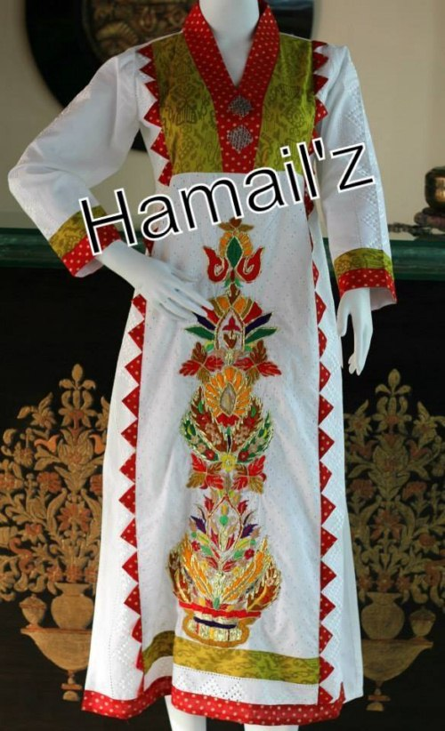 Hamailz hand embroidery ready to wear dresses (10)