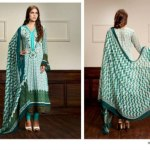 Zaheer Abbas summer Lawn Collection by Shariq Textile