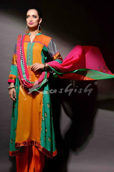 Kashish Eid Dress Collection for girls 2013 (3)