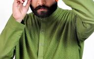 Satrangi by Saqib Amazing Kurtas Eid Collection 2013 For Men _ 0004