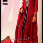 ZJ Outfit Formal Wear Collection 2013 For Girls (6)