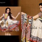 Afreen By Lala Embroidered Winter Dresses 2013 For Women and Girls (11)
