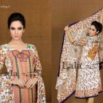 Afreen By Lala Embroidered Winter Dresses 2013 For Women and Girls (3)