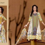 Afreen By Lala Embroidered Winter Dresses 2013 For Women and Girls (7)