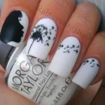 Beautiful Stylish Painted Nail Art Design Collection 2013-14 (11)