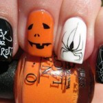 Beautiful Stylish Painted Nail Art Design Collection 2013-14 (1)