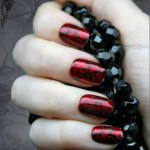 Beautiful Stylish Painted Nail Art Design Collection 2013-14 (4)