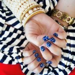 Beautiful Stylish Painted Nail Art Design Collection 2013-14 (8)