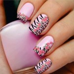 Female Latest Nails Designs Christmas New Year
