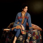 Khaadi Unstitched Winter Women Dress Collection Fashion 2014-15