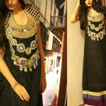 Stylish Winter party dresses For women by Jannat Nazir