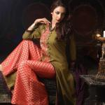 Cotton Ginny Elegance Latest Winter Dress Collection