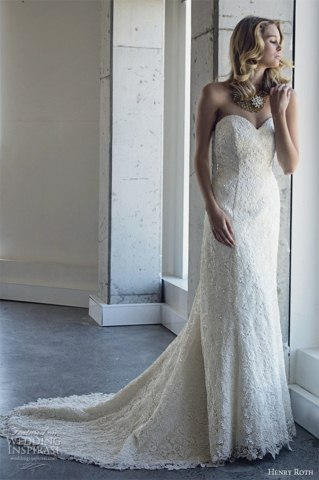 Henry Roth Wedding gowns Dresses Collection 2014