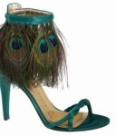 Lovely Elegance Peacock Designs Ladies Shoes Collection 2014 (3)