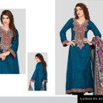 Nation Winter Dresses by Riaz Art For Women (4)