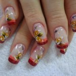 Patels Flower Nail Designs For Patels Flower Nail Designs For Christmas Day (1)Christmas Day (1)