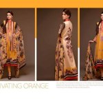 Al Hamra captivating orange collection for spring summer 2014 Ladies collection