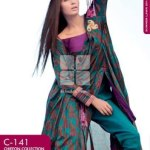 Gul Ahmed fanch lawn collection for spring summer 2014