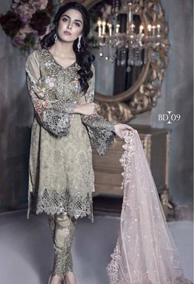 Maria B latest party dresses 2016