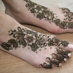 foot latest mehndi designs 2016