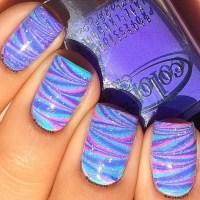 Amazing Water Marble Nail Art Designs - fashionsy.com