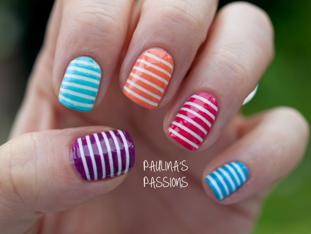 Stripped Nail Designs Ivoiregion