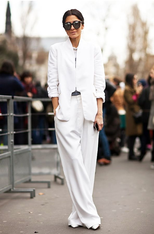 White Pant Suits For Women 2018 FashionTasty - women suits pant