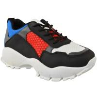 Womens Ladies Dad Sneakers Chunky Platform Trainers Runner ...
