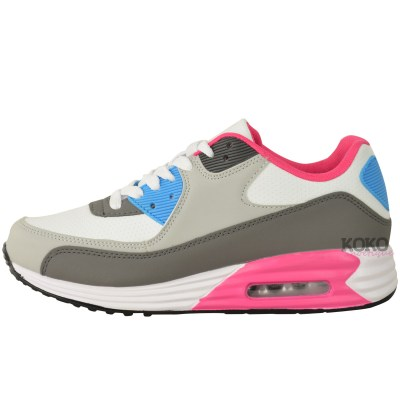 WOMENS LADIES RUNNING TRAINERS GYM SHOCK ABSORBING SPORTS ...
