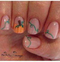 Thanksgiving Nail Art Designs & Ideas