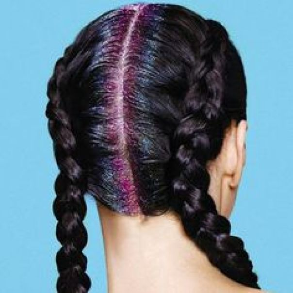 how to get glitter roots out of hair