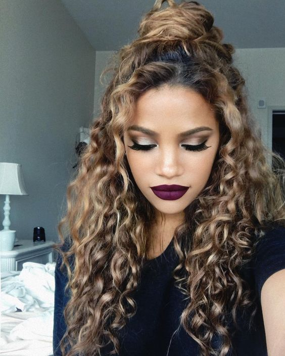 2017 Fall 2018 Winter Hairstyles - Natural Curls