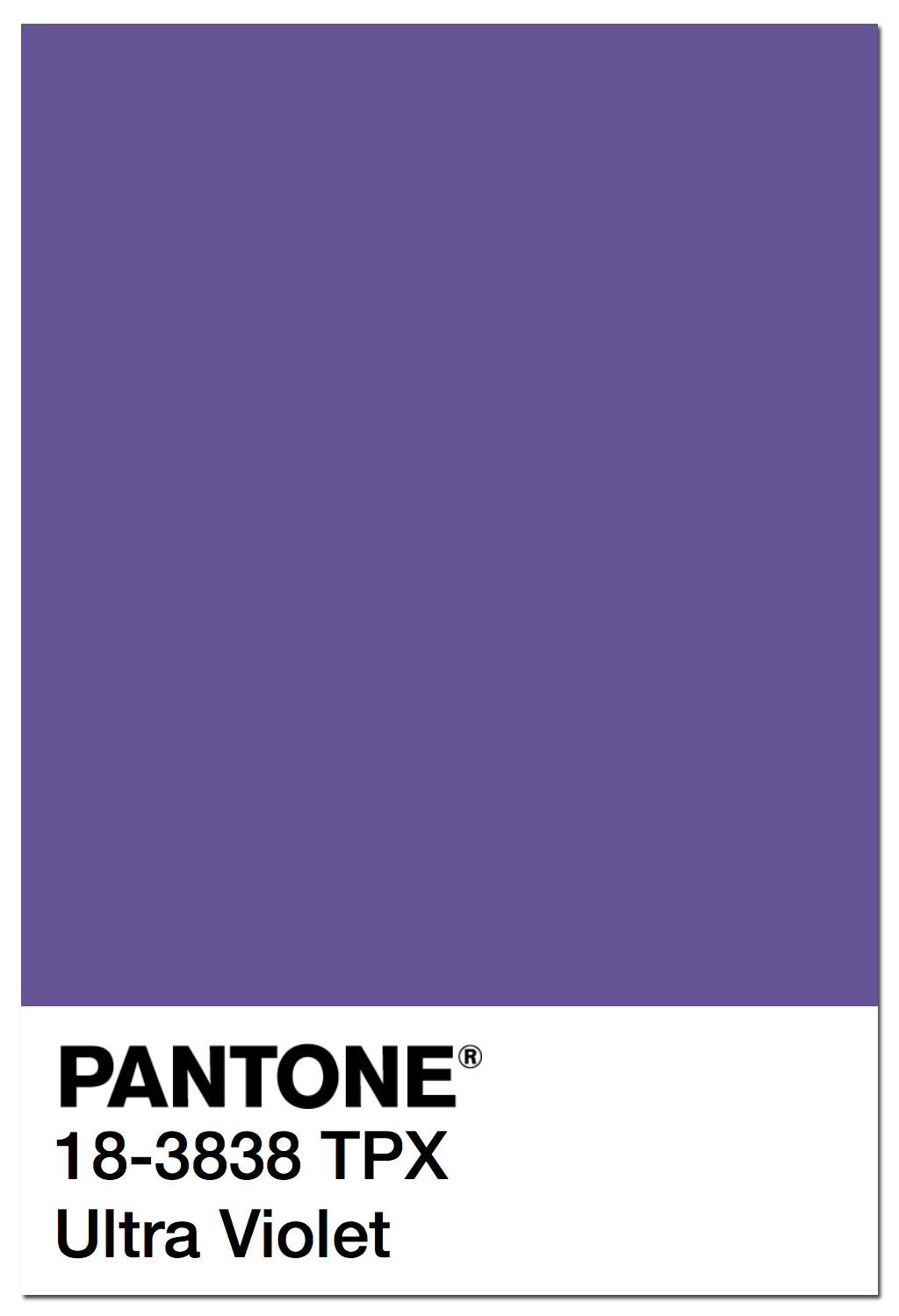 Ultra Violet Pantone Pantone Color Of The Year 2018 Pantone 18 3838 Ultra