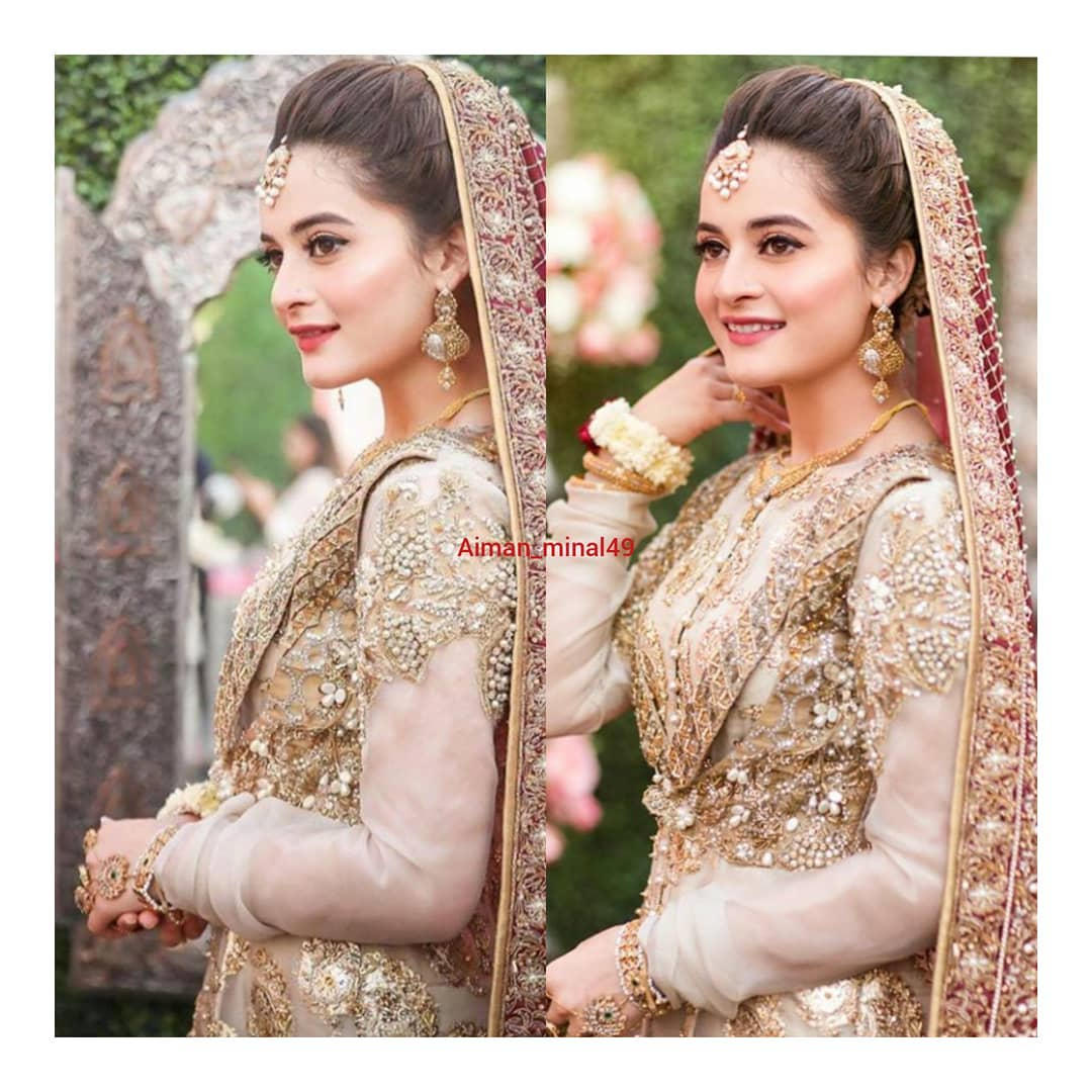 Experience Website Beautiful New Pictures Of Aiman Khan Nikah | Pakistani