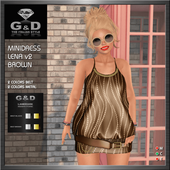 G&D Minidress Lena Brown v2
