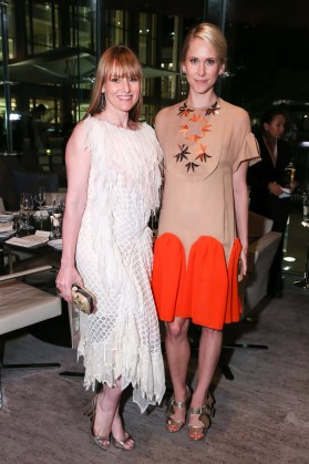 MARIA BAIBAKOVA and DAVID HALLBERG Dinner Event Honoring David Hallberg and the Bolshoi Engagement with the Lincoln Center Festival