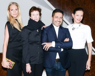 Poppy Delevingne, Wendy Goodman, Osman Yousefzada, Jeanne Greenberg Rohatyn