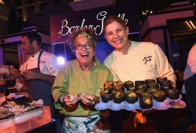 Celebrity Chefs Light Up The Strip At Vegas Uncork'd By Bon Appetit's Grand Tasting At Caesars Palace