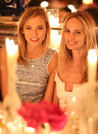 Karlie Kloss and Lauren Santo Domingo