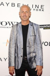 NEW YORK, NY - SEPTEMBER 10: Fashion designer Italo Zucchelli attends The Daily Front Row's Third Annual Fashion Media Awards at the Park Hyatt New York on September 10, 2015 in New York City. (Photo by Rommel Demano/Getty Images for The Daily Front Row)