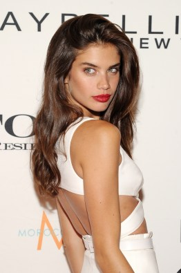 NEW YORK, NY - SEPTEMBER 10: Model Sara Sampaio attends The Daily Front Row's Third Annual Fashion Media Awards at the Park Hyatt New York on September 10, 2015 in New York City. (Photo by Rommel Demano/Getty Images for The Daily Front Row)